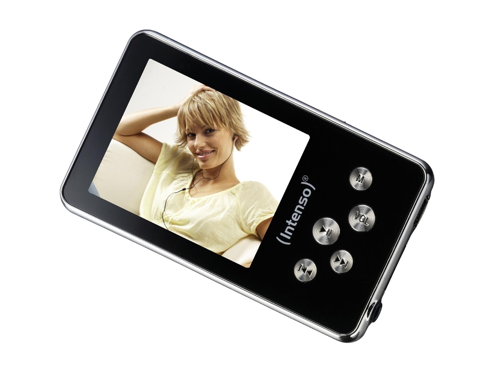 Intenso Video Driver - Lecteur vidéo MP3 4GB (Noir) pour 45€