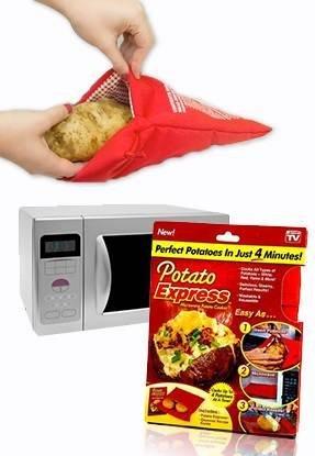 Potato Express sac cuisson patates au micro ondes