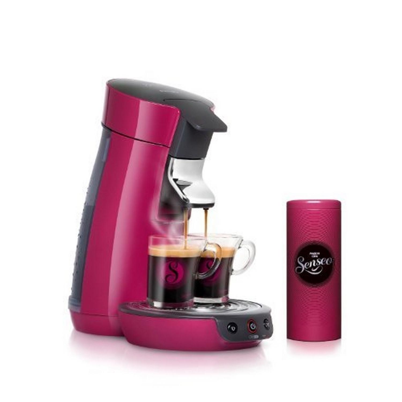 cafeti re senseo dosette viva caf rose framboise pack. Black Bedroom Furniture Sets. Home Design Ideas