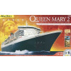 Maquette Bateaux Queen Mary 2 Echelle 1/600