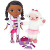 giochi preziosi - poupée doc la peluche parlante avec accessoires et caline - 30 cm - giochi preziosi