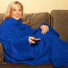 Couverture Polaire - Avec Manches - Bleu