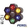 Jeu de lumières modulaires - 3 canaux - 6 Lampes