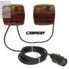 Feu arrière d'éclairage magnétique - Avec Câble alim. 1.4/4.5m