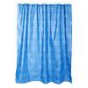Rideau de douche - Inclus 12 anneaux - 180x180cm - Bleu