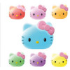 Veilleuse Hello Kitty - LED Multicolore - Tête Hello Kitty - 7 couleurs