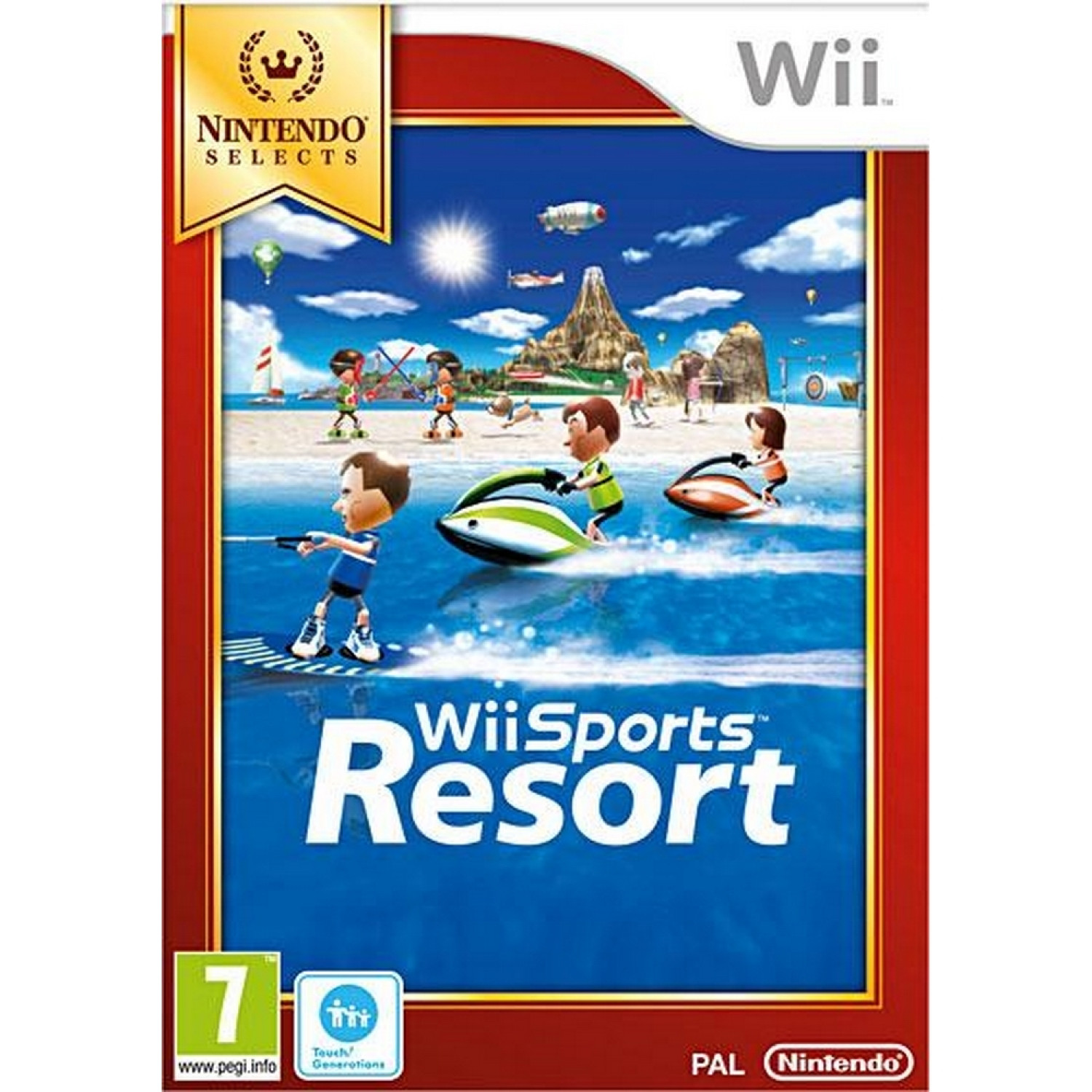 Wii - Wii Sports Resort Select Wii