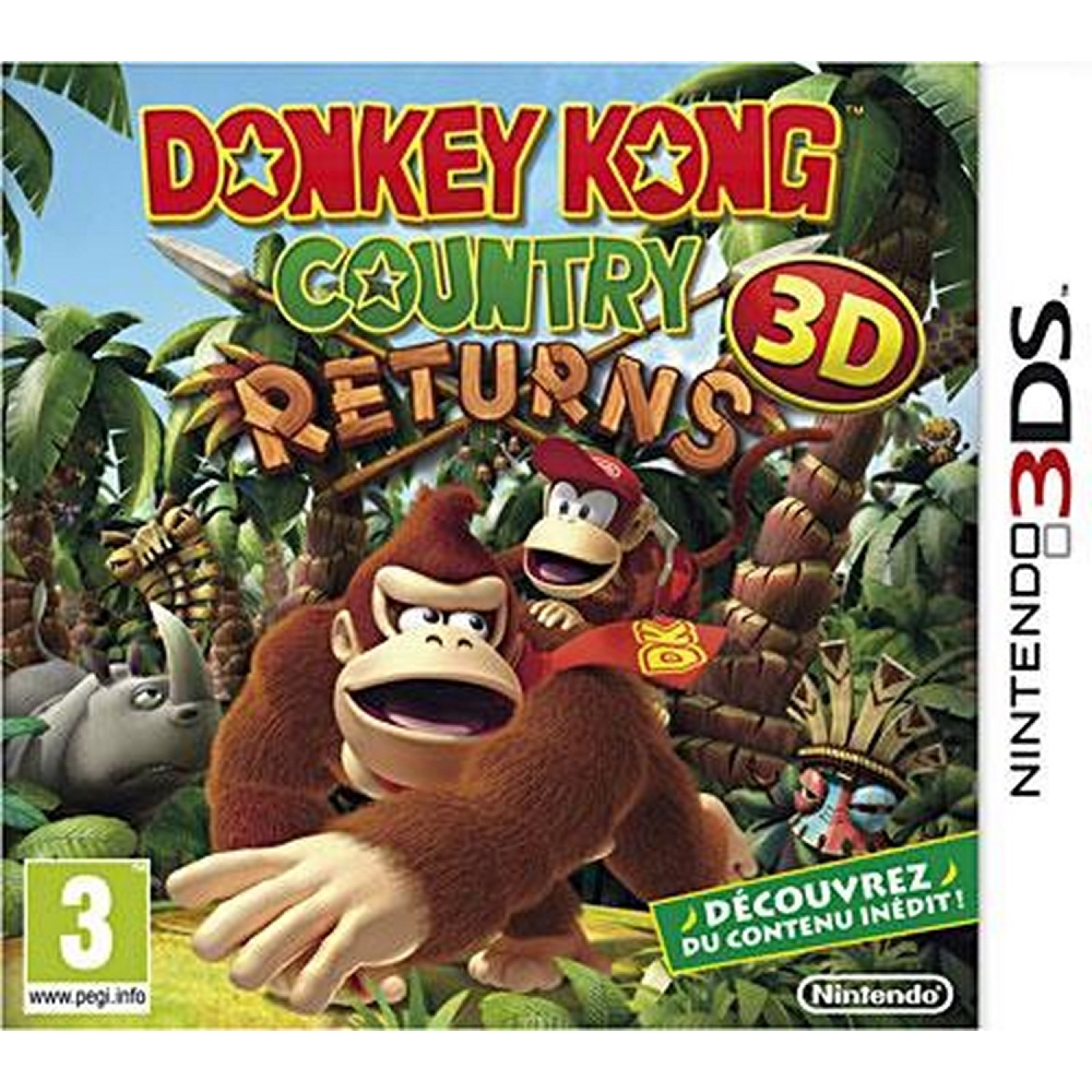 3ds - Donkey Kong Country Returns 3ds