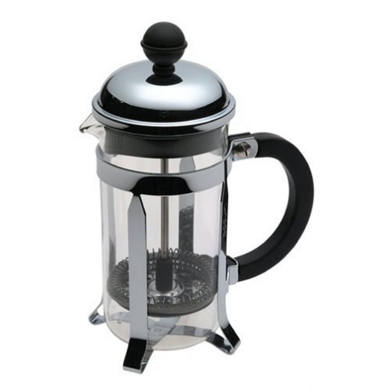 1923-16 Chambord Cafetière à Piston 3 Tasses 0.35 L Acier Chromé