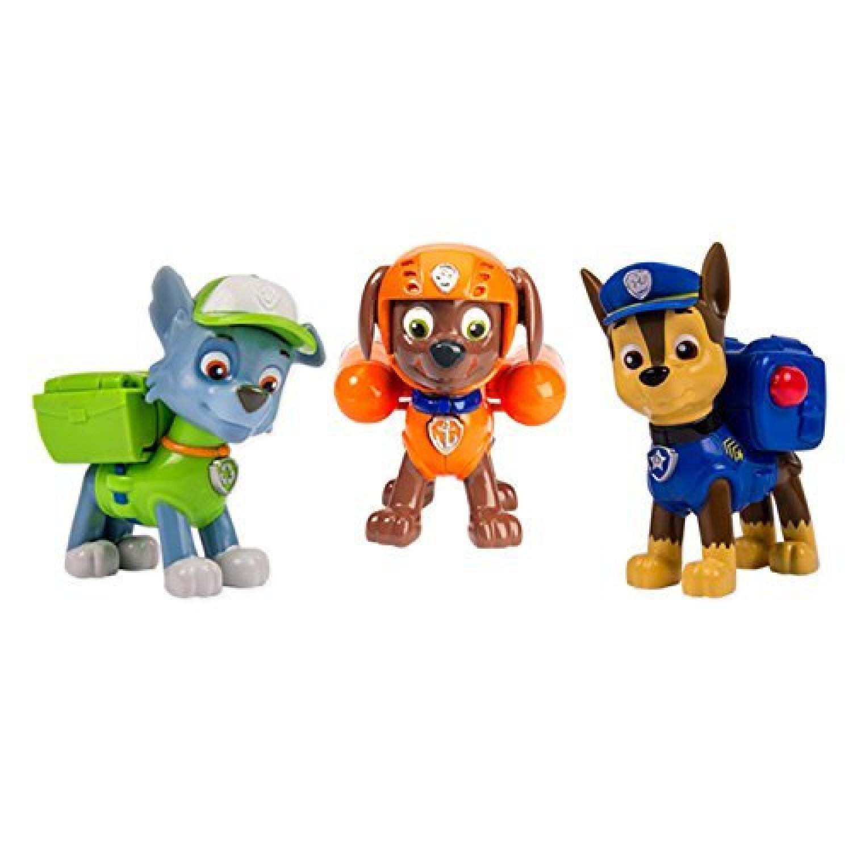 -  - Figurine Animation - Pack De 3 - Sac A Dos Transformable 2 -