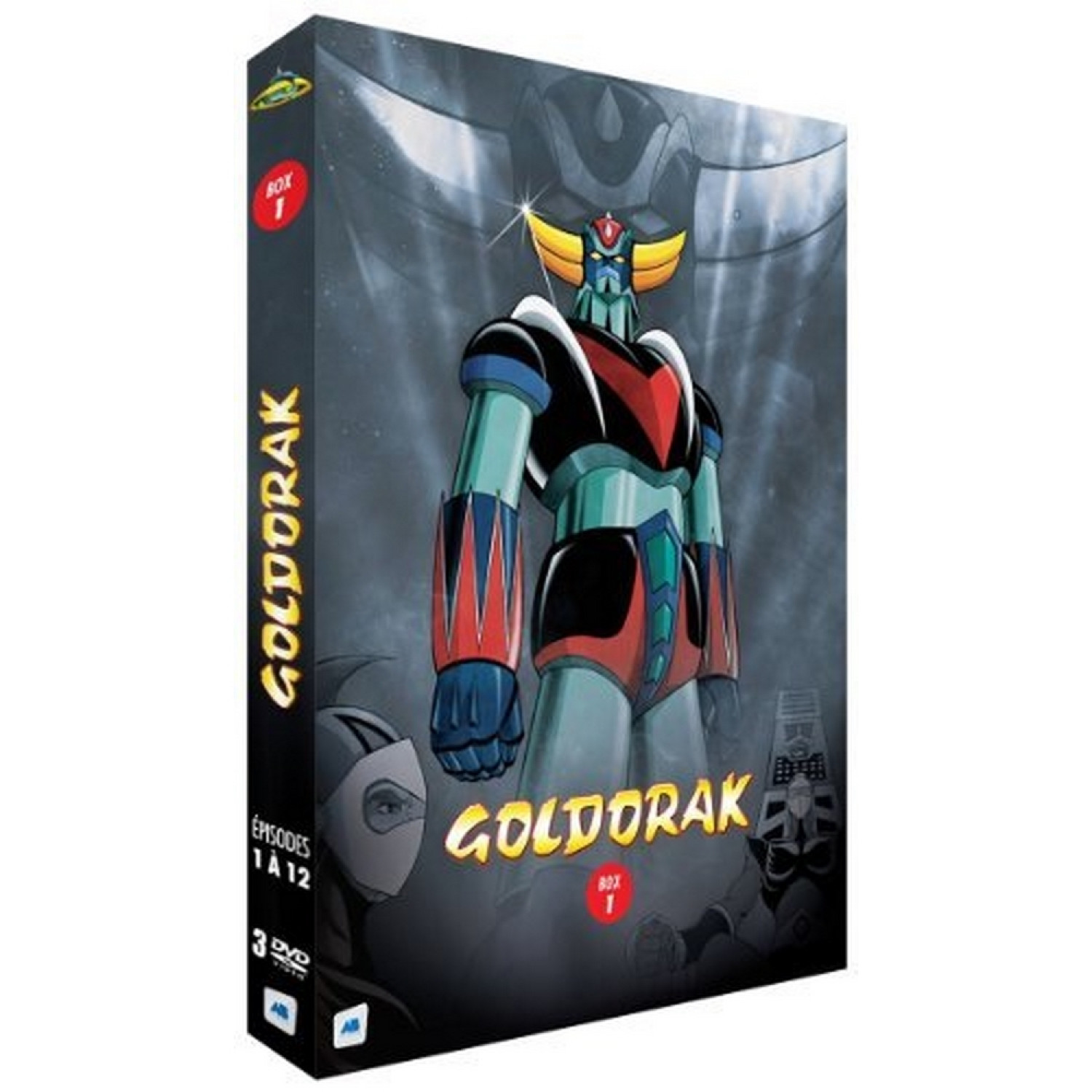Goldorak - Box 1 - Episodes 1 A 12