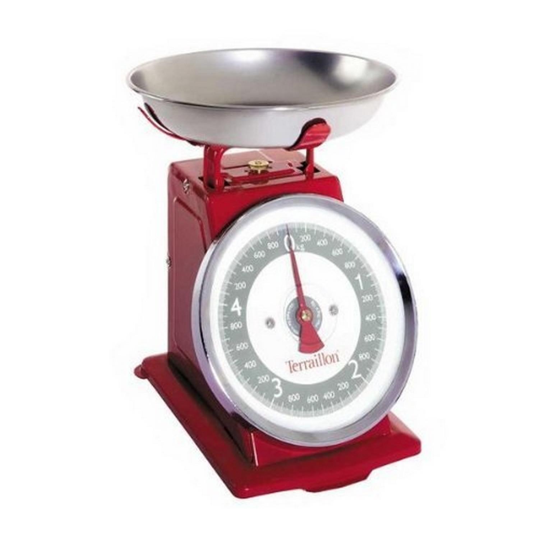 Balance Tradi 500 5Kg/10 g Retro Rouge