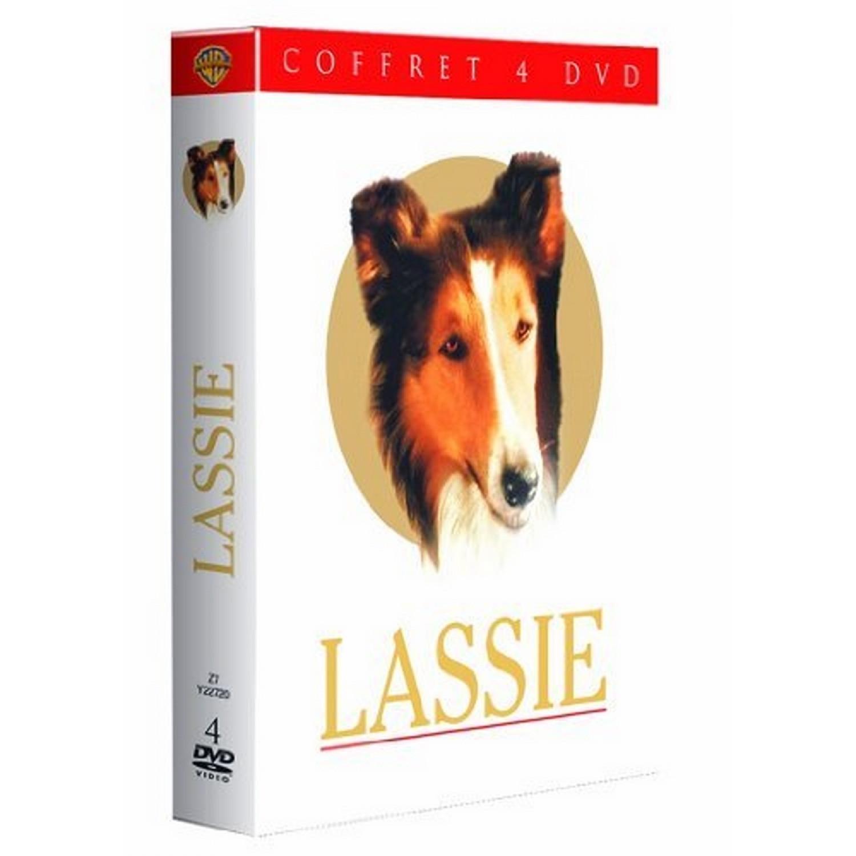 Coffret Lassie   Fidele Lassie / Le Fils De Lassie / Le Defi De Lassie / Le Courage De Lassie