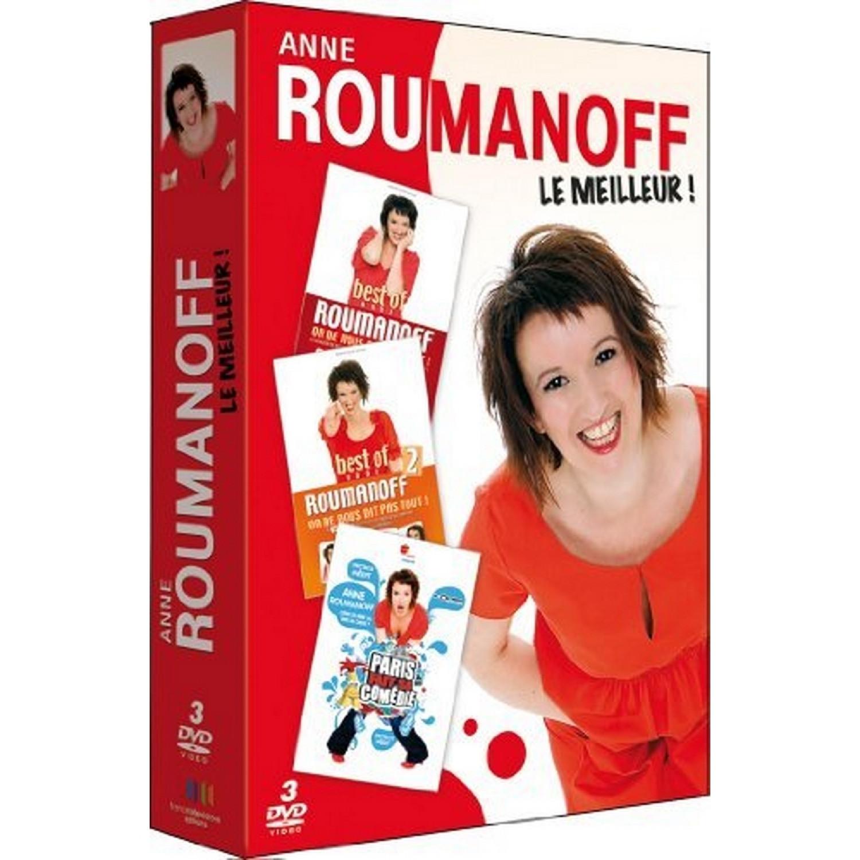 Coffret 3 Dvd Anne Roumanoff   Best Of Vol. 1 + Best Of Vol. 2 Du Meilleur De Vivement Dimanche + Anne Fait Sa Comedie