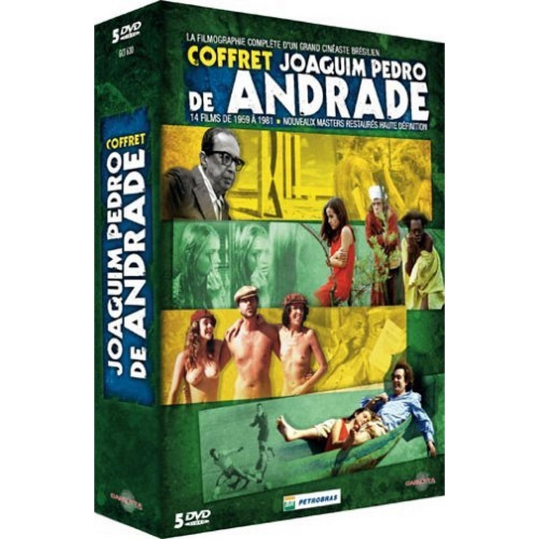 Coffret Joaquim Pedro De Andrade5 Dvd   Macunaima / Garrincha / Le Cure Et La Jeune Femme / Guerre Conjugale / L'homme Au Bois Bresil - Edition Collector
