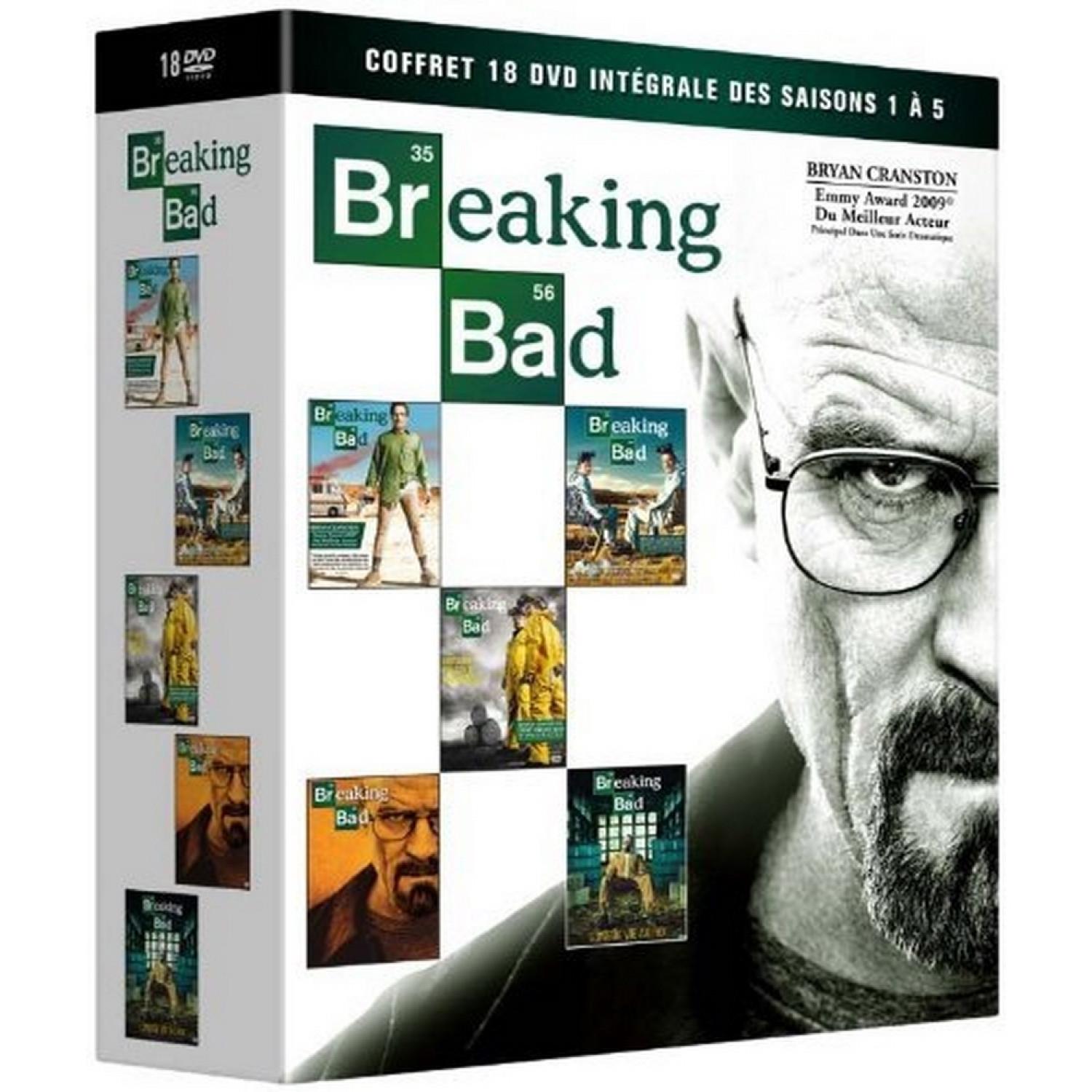 Breaking Bad - Coffret 18 Dvd Integrale Des Saisons 1 A 5