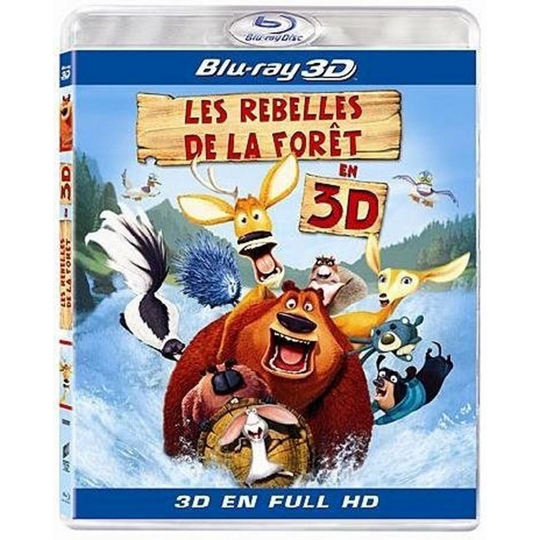 Les Rebelles De La Foret - Blu-ray 3d Active
