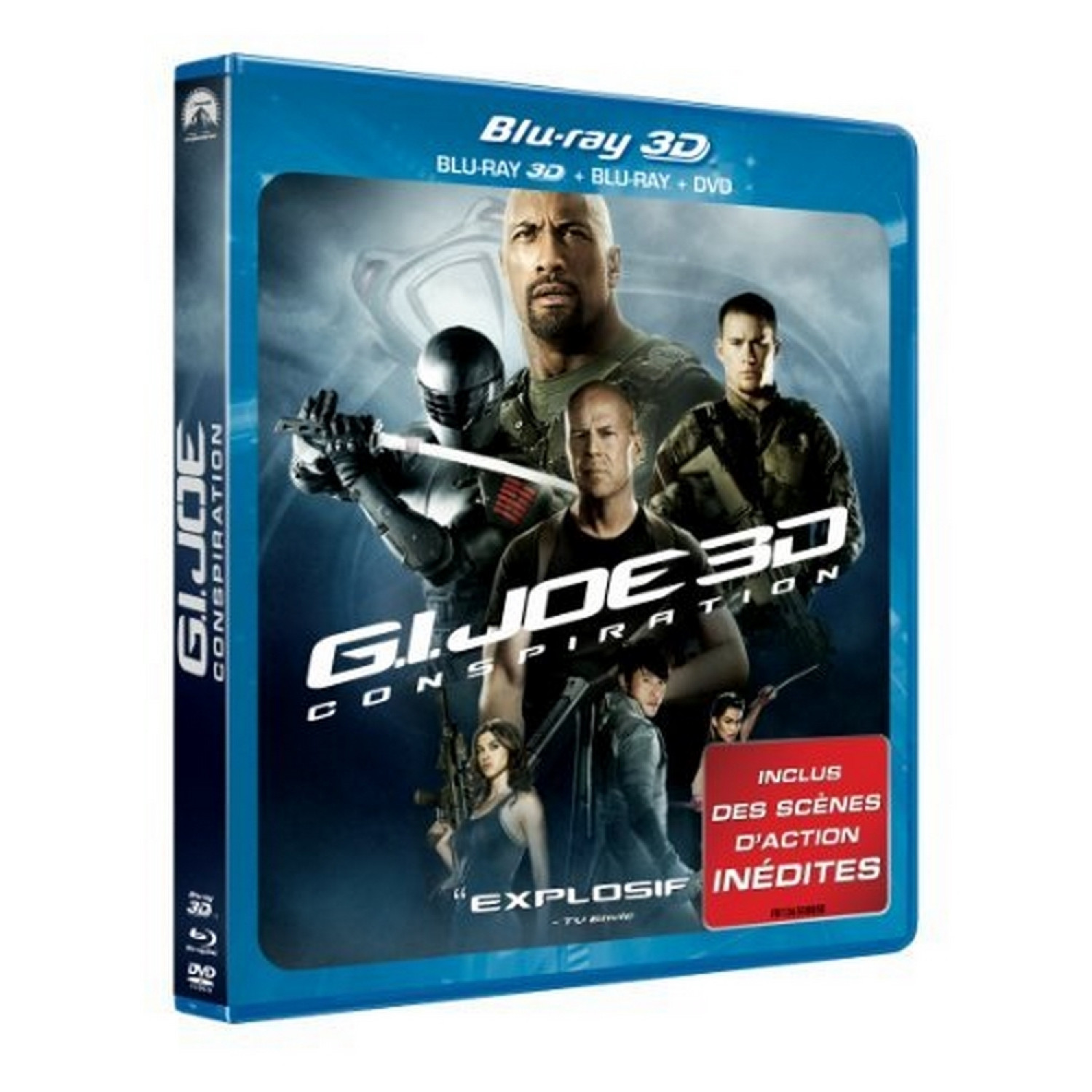 G.i. Joe 2   Conspiration [blu-ray] [blu-ray 3d]