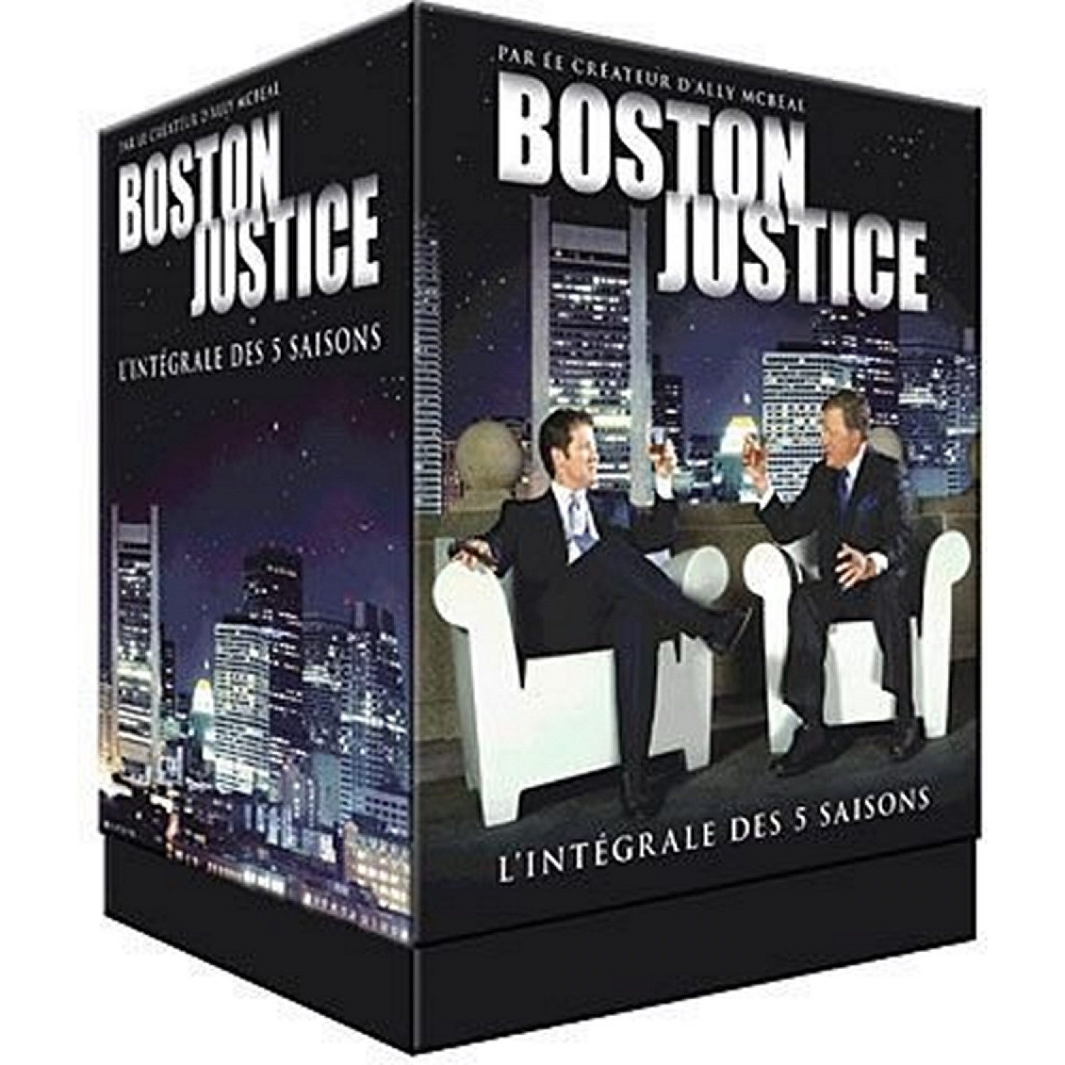 Coffret Boston Justice. L'integrale - Saisons 1 A 5