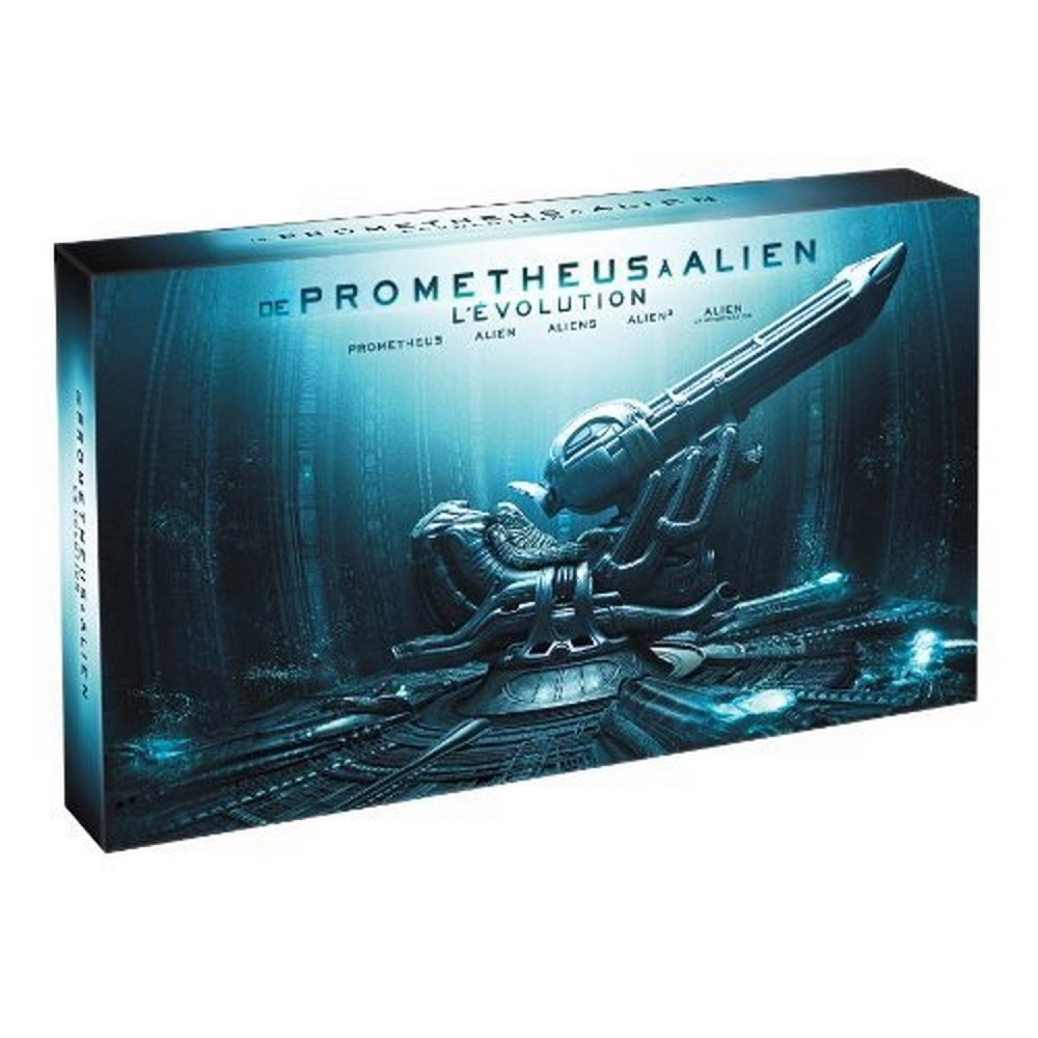 De Prometheus A Alien. L'evolution - Edition Collector 9 Disques [blu-ray 3d]