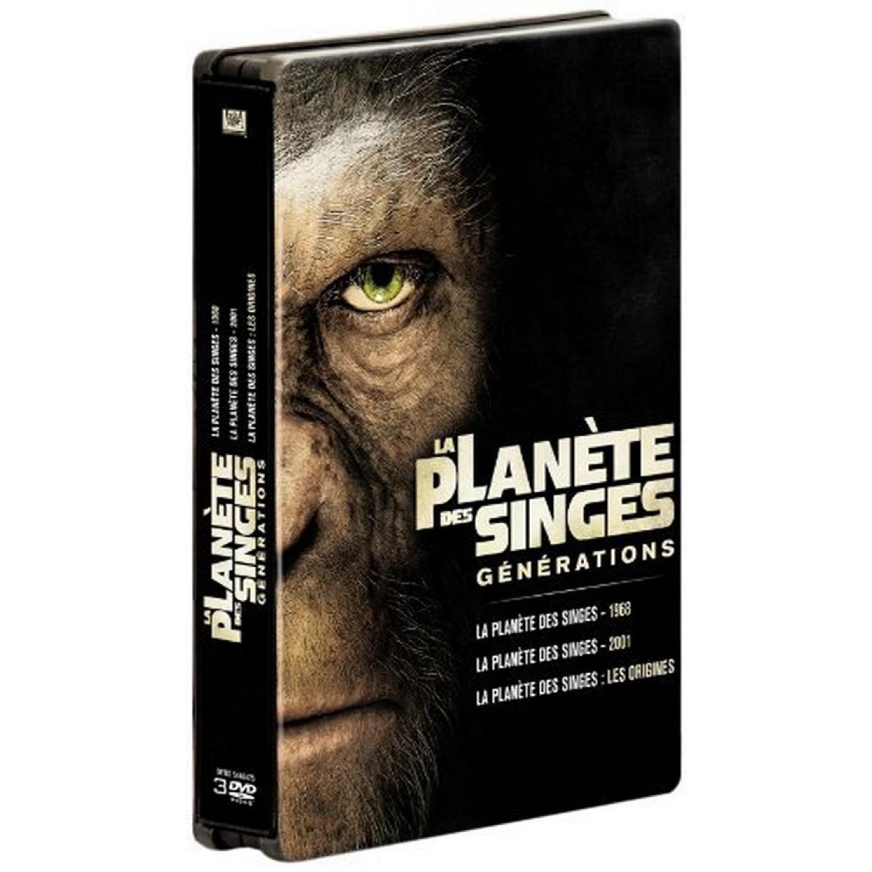 La Planete Des Singes   Les Versions 1968. 2001 Et 2011 - Edition Limitee Boitier Metal