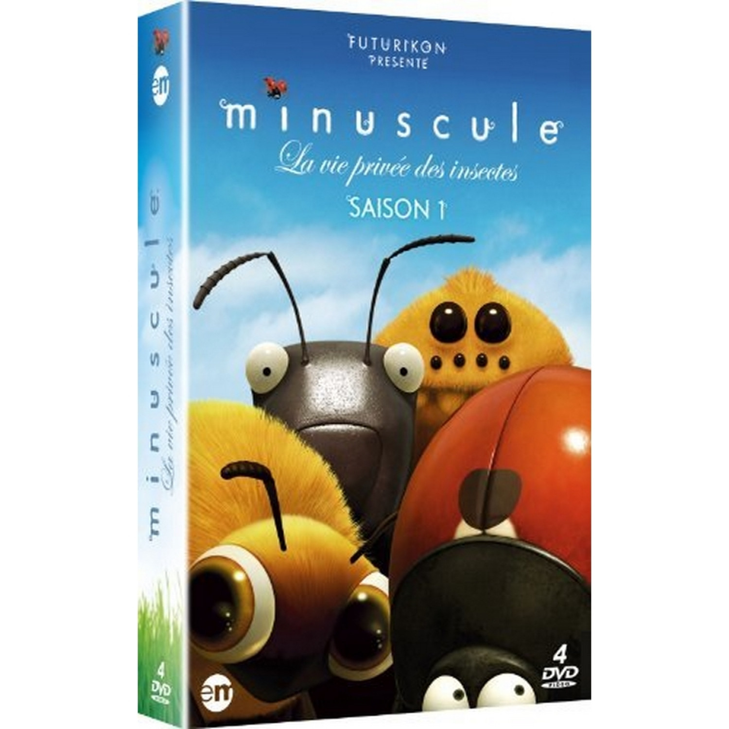Minuscule - Edition Collector 4 Dvd
