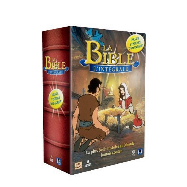 Coffret Integrale La Bible   Ancien Testament / Nouveau Testament - Coffret 6 Dvd