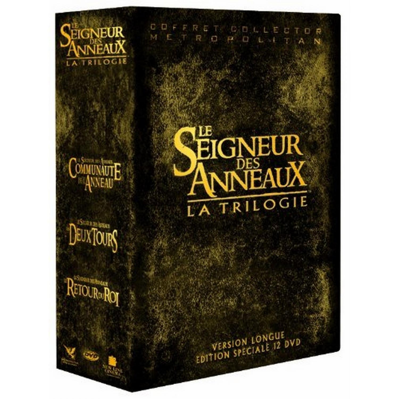 Coffret Trilogie Le Seigneur Des Anneaux - Integrale Versions Longues - 12 Dvd - Edition Speciale Limitee 2011