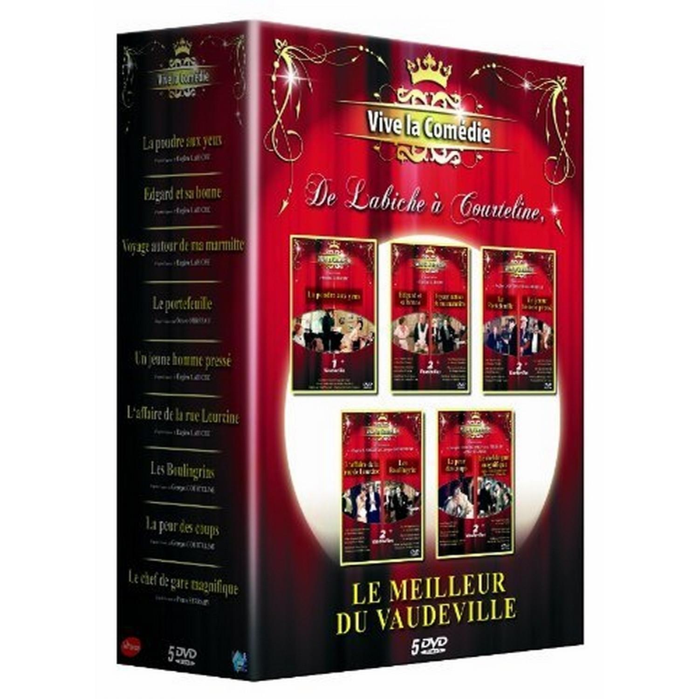 Coffret Vive La Comedie. Vol.1 - 9 Titres
