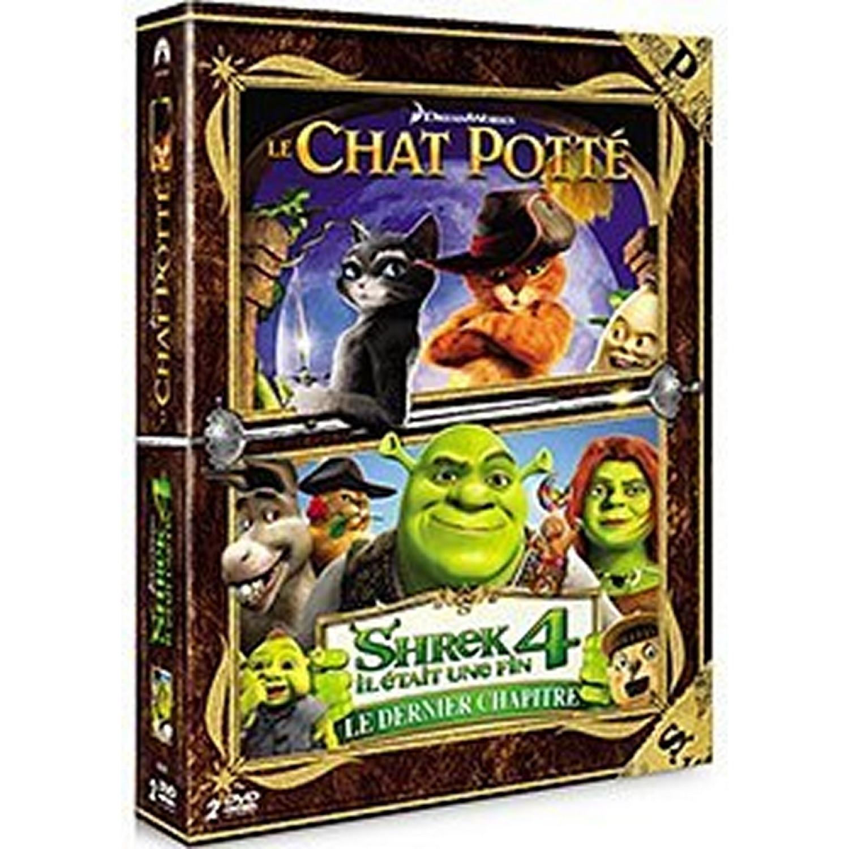 Le Chat Potte + Shrek 4 - Il Etait Une Fin - Le Dernier Chapitre