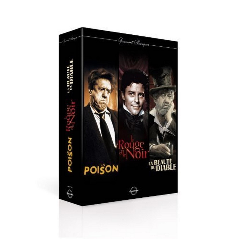 Gaumont Classiques - La Poison + Le Rouge Et Le Noir + La Beaute Du Diable