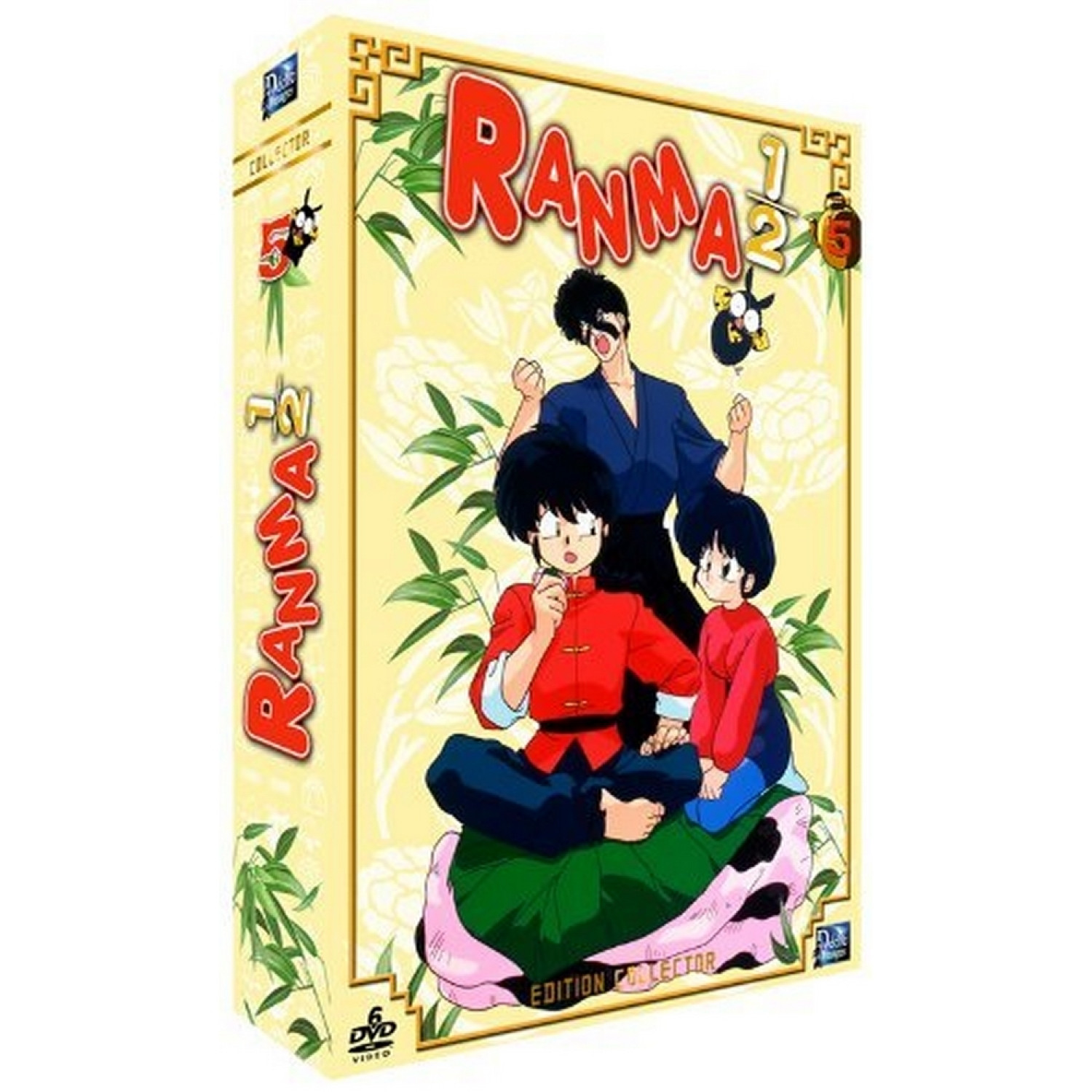 Ranma 1/2 - Partie 5  Non Censuree) - Edition Collector  6 Dvd + Livret)