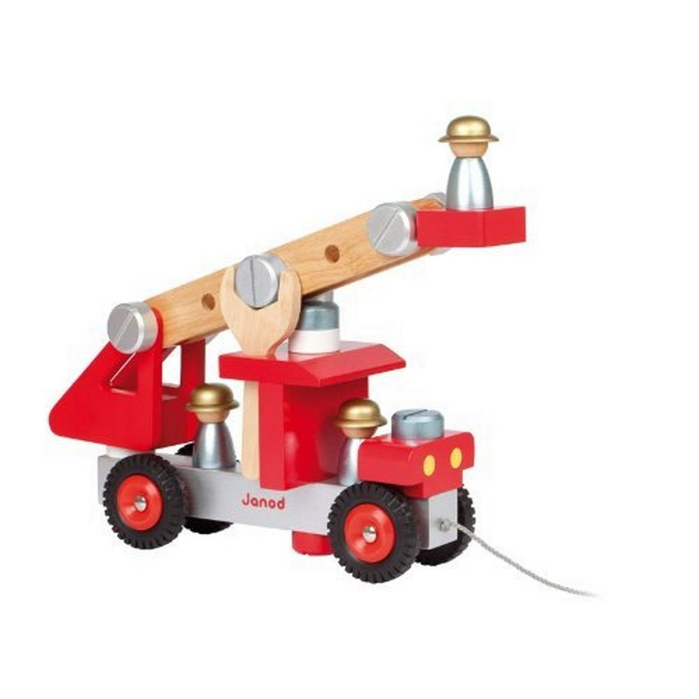 Jouet d'éveil  Camion de pompiers J06498