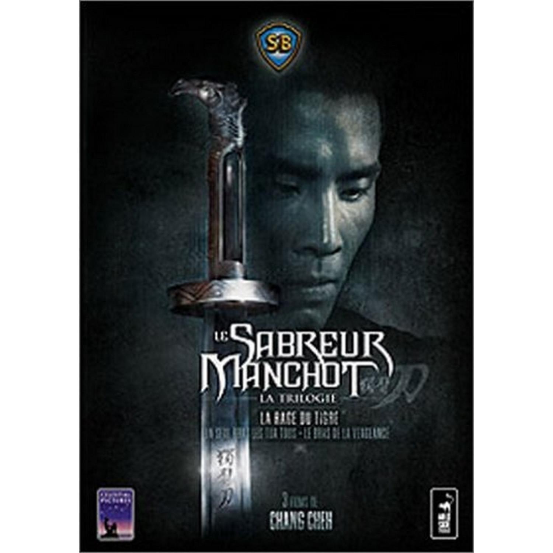Coffret Le Sabreur Manchot 3 Dvd   Un Seul Bras Les Tua Tous / Le Bras De La Vengeance / La Rage Du Tigre