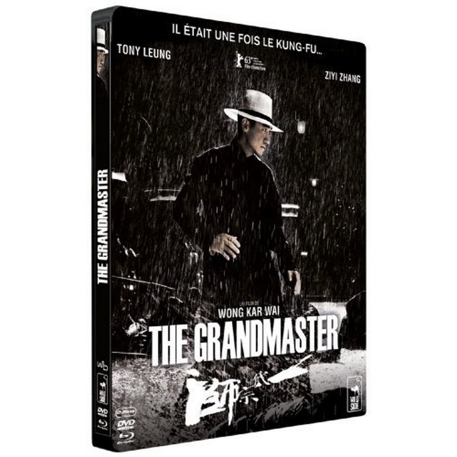 The Grandmaster - Edition Limitee Steelbook Dvd + Blu-ray + 1 Scene Inedite En 3d Active [blu-ray]