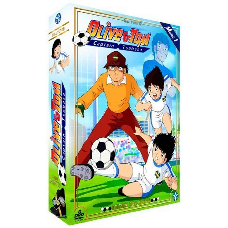 Olive Et Tom  Captain Tsubasa) - Partie 1 - Edition Collector  6 Dvd + Livret)