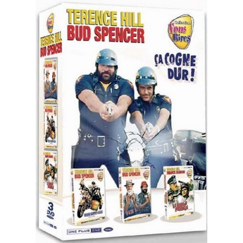Coffret Terence Hill - Bud Spencer   Deux Super Flics / Pair Et Impair / La Grosse Pagaille - Coffret 3 Dvd