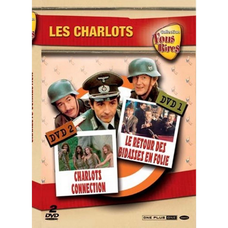 Coffret Les Charlots 2 Dvd   Charlot Connection / Le Retour Des Bidasses En Folie