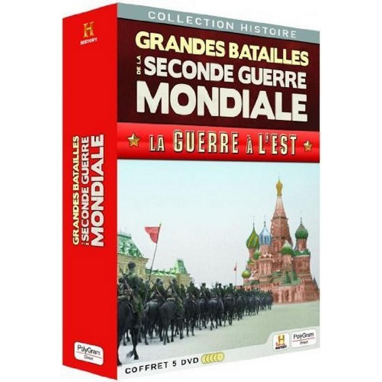 Grandes Batailles De La Seconde Guerre Mondiale  La Guerre A L'est - 5 Dvd
