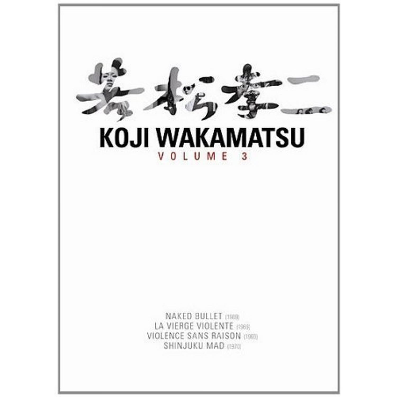 Coffret Koji Wakamatsu Vol 3 - 4 Dvd