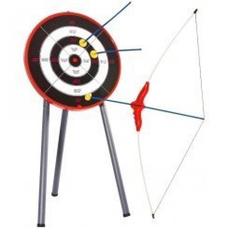 Set de tir à l'arc avec cible + arc + 3 flèches