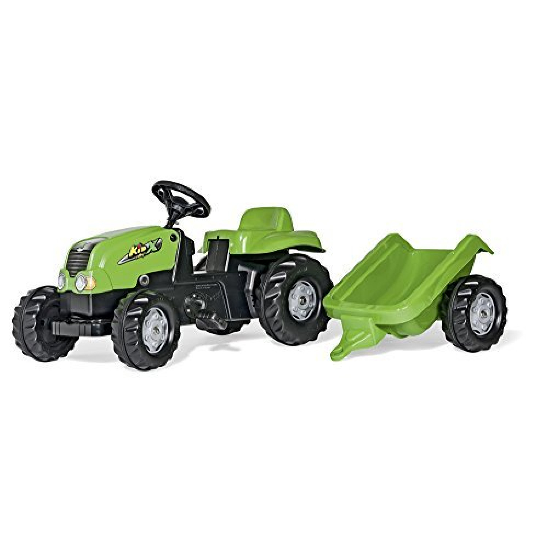 -  - Tracteur À Pédales - Rollykid-x + Remorque