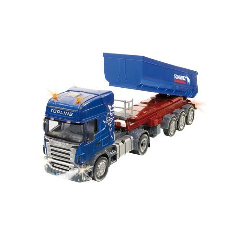 6725 Véhicule Radio commandé   coffret complet camion Scania avec benne 1.32 ème metal