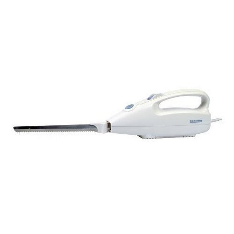 Couteau Electrique 100W Blanc / Gris