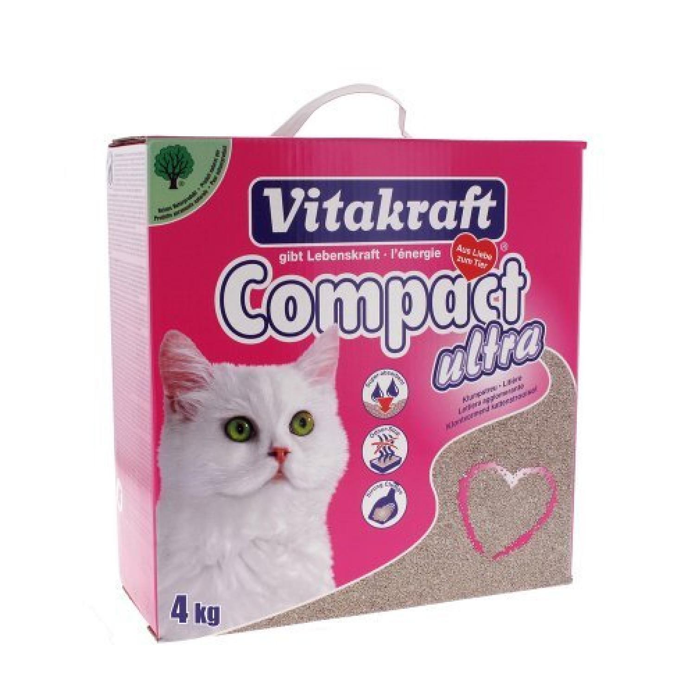 Litière Compact Ultra pour chat 4 kg