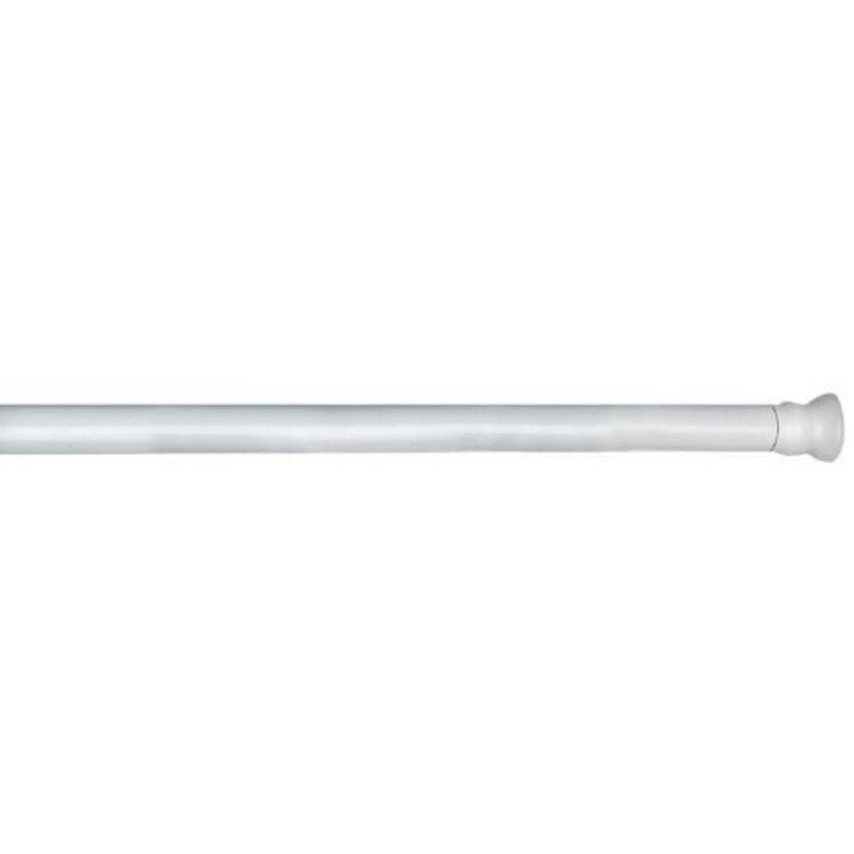 Barre de douche Télescopique épais 20 mm Blanc 70 115 cm
