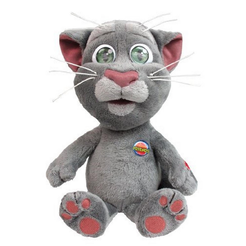 ouaps - peluche intéractive - talking tom - 30 cm -  toys