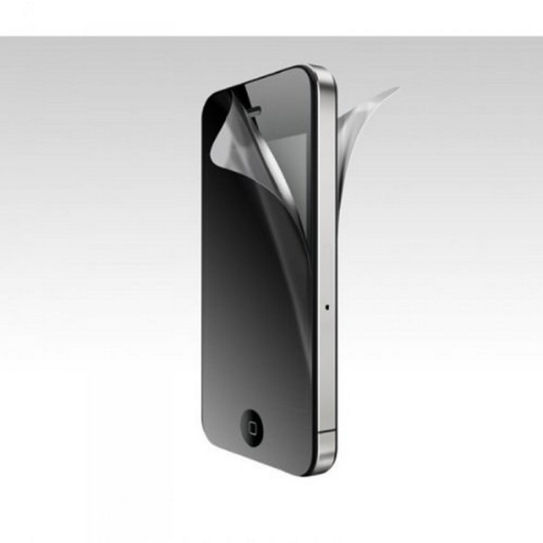 Sheer Anti-Reflect Plus Set de films de protection d'écran Pour iPhone 4 Deux films avant/arrière Carte applicateur Chiffon microfibres