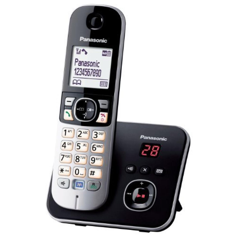 KX-TG6821 Téléphones Sans fil Répondeur Ecran Noir