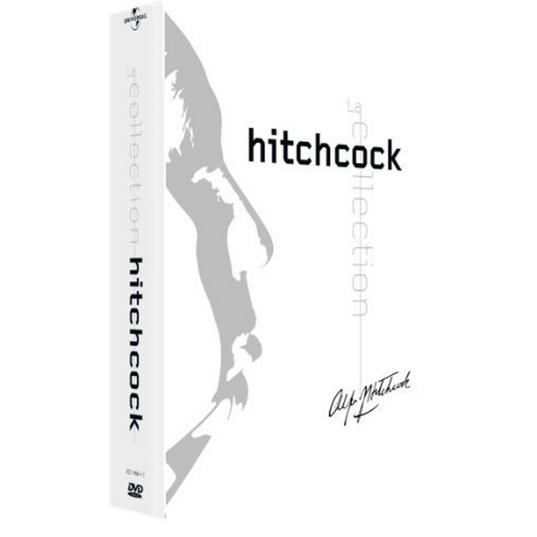 Coffret Hitchcock 7 Dvd - Blanc   Les Oiseaux / Complot De Famille / Frenzy / L'etau / Le Rideau Dechire / Sueurs Froides / Pas De Printemps Pour Marnie